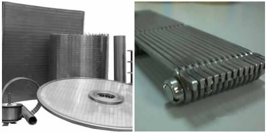 Profile Wire Screen- Catalog and Profile Type, Used as Flat Wedge ...