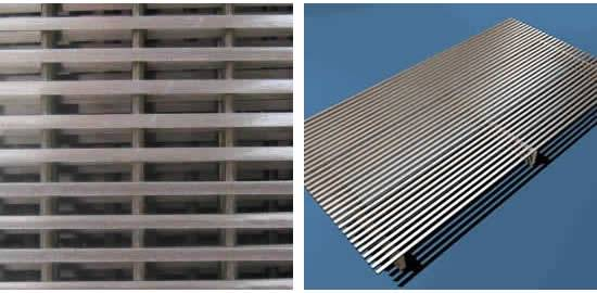 Wedge Wire Screen Sheet is Made Stainless Steel Screen and Welded ...